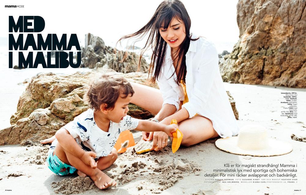 MAMA Magazine- Sweden