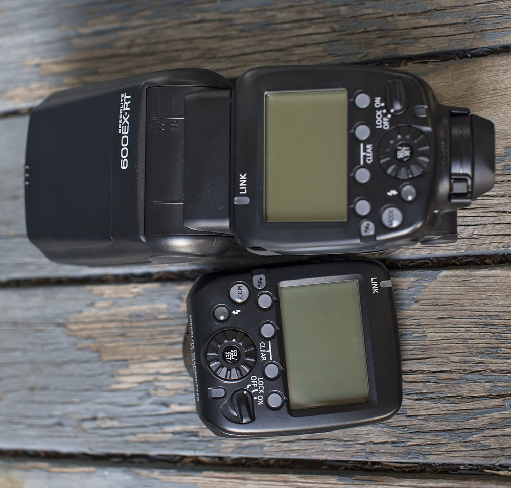 Canon 600EX-RT Speedlite and Transmitter