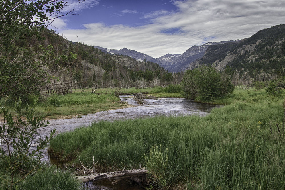 Moraine Park, Estes Park Colorado - Photographers - click the photo to learn more about achieving High Dynamic Range (HDR) images like this