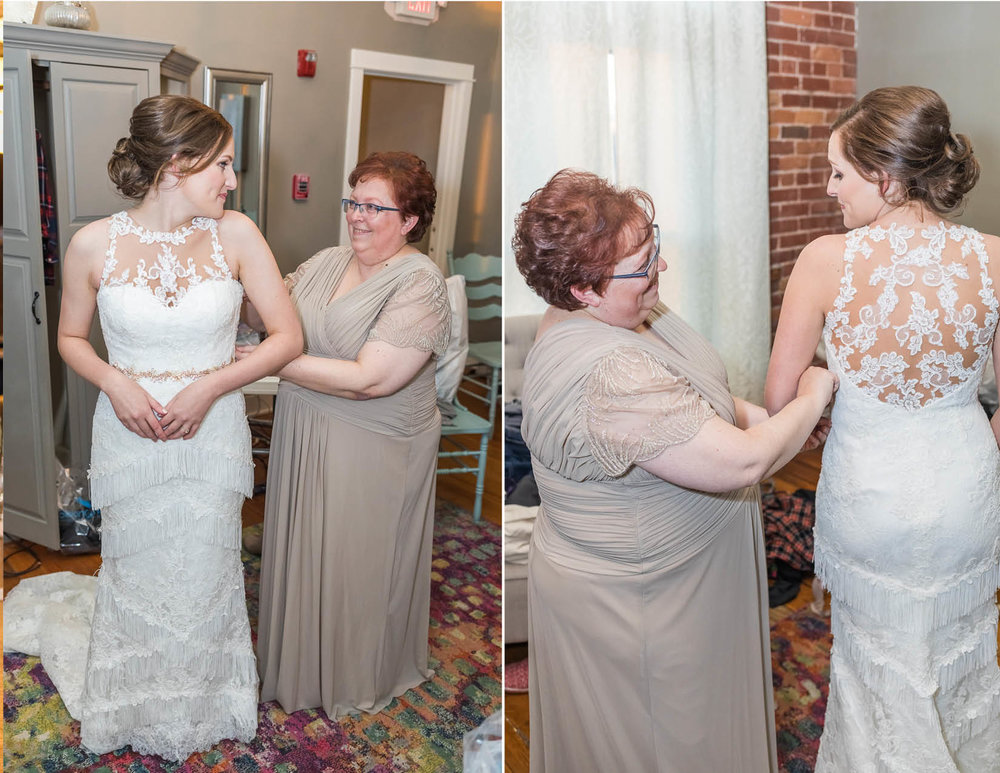 Getting ready wedding photos, mother of the bride