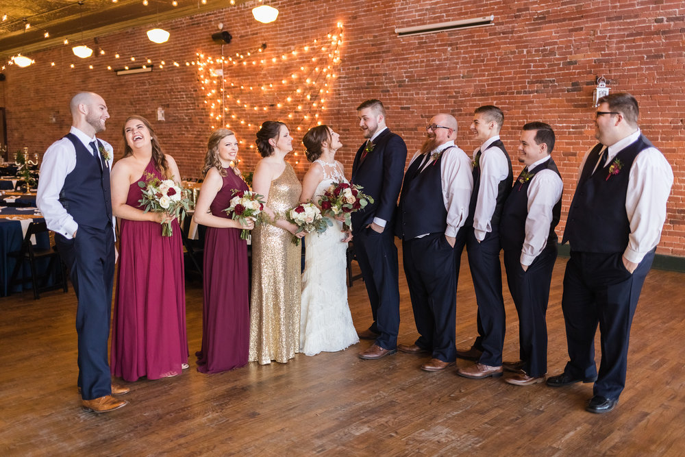 kansas city wedding photographer bridal party photos