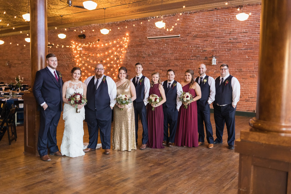 Kansas City Bridal Party outfits
