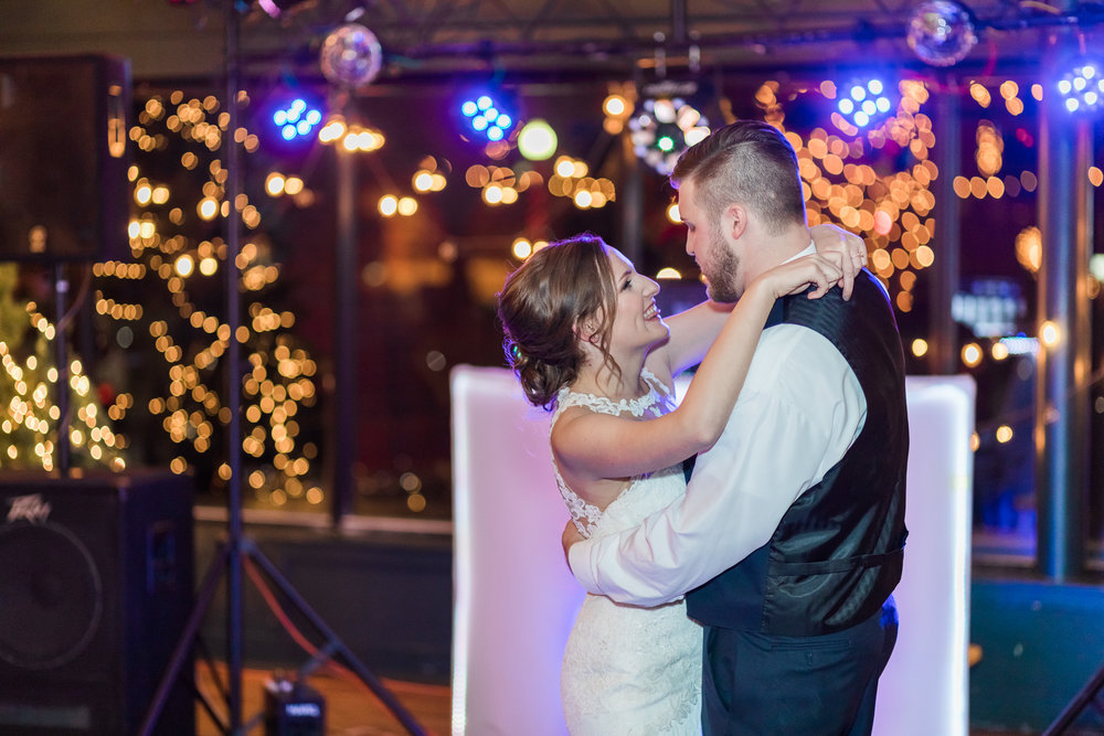 Kansas City wedding photographer reception first dance photo