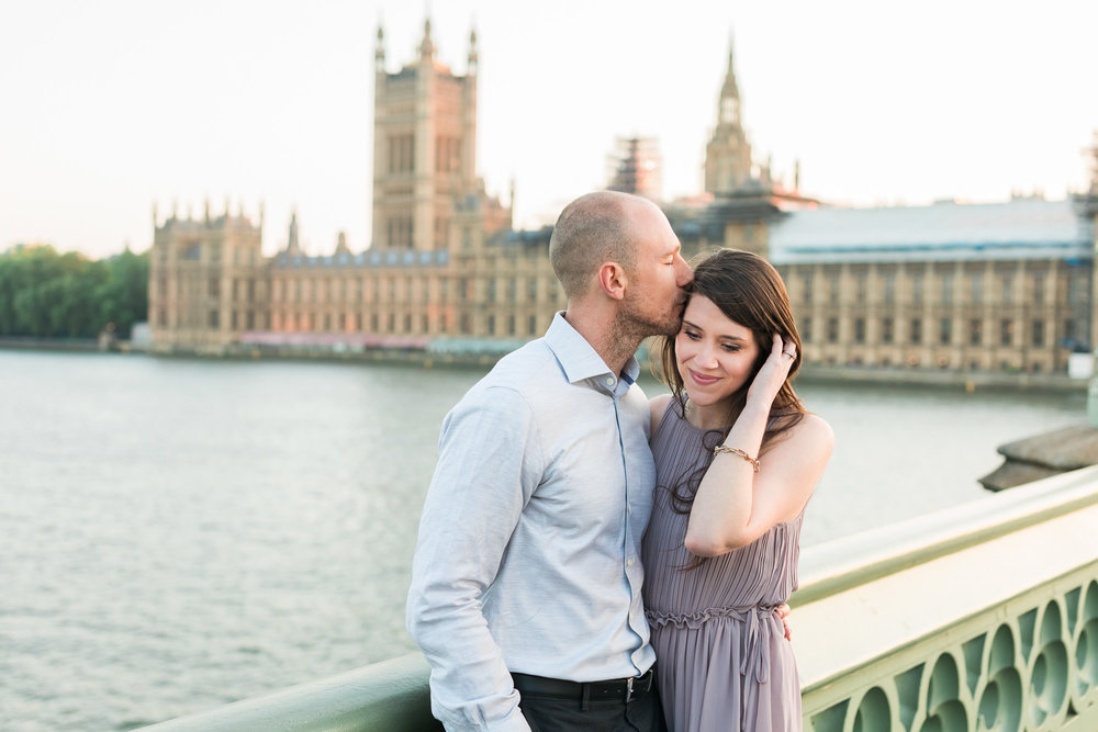 London, England Engagement Photos by Big Ben