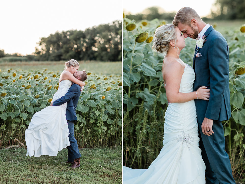 Kansas Sunflower Wedding Couple Photos 1.jpg