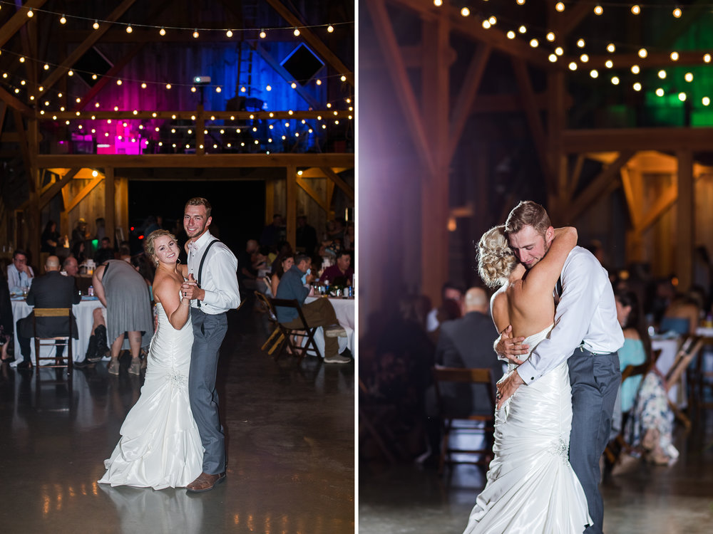 Kansas City Wedding Bride and Groom First Dance 2 .jpg