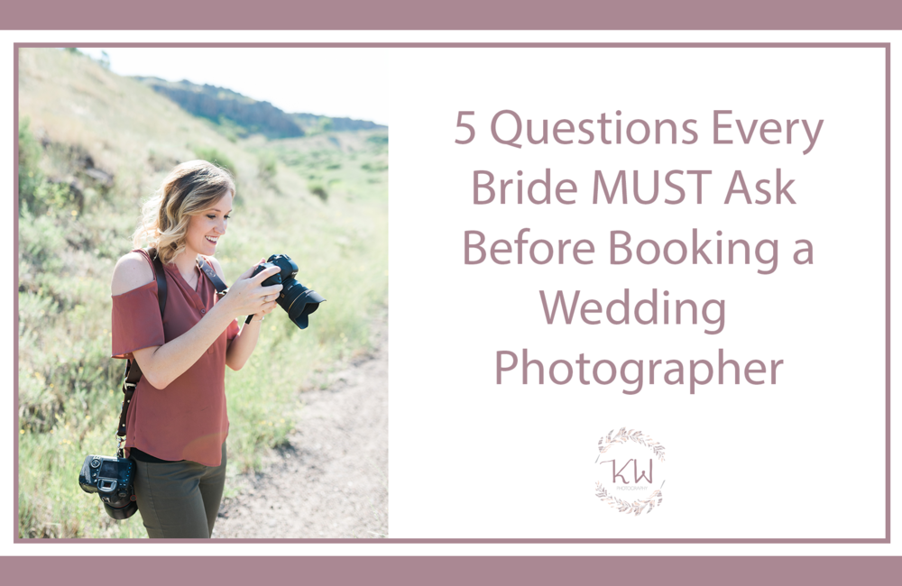Colorado wedding photographer behind the scenes