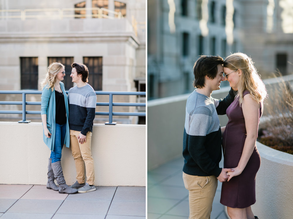 Downtown Kansas City Union Station Engagement Photo 3.jpg