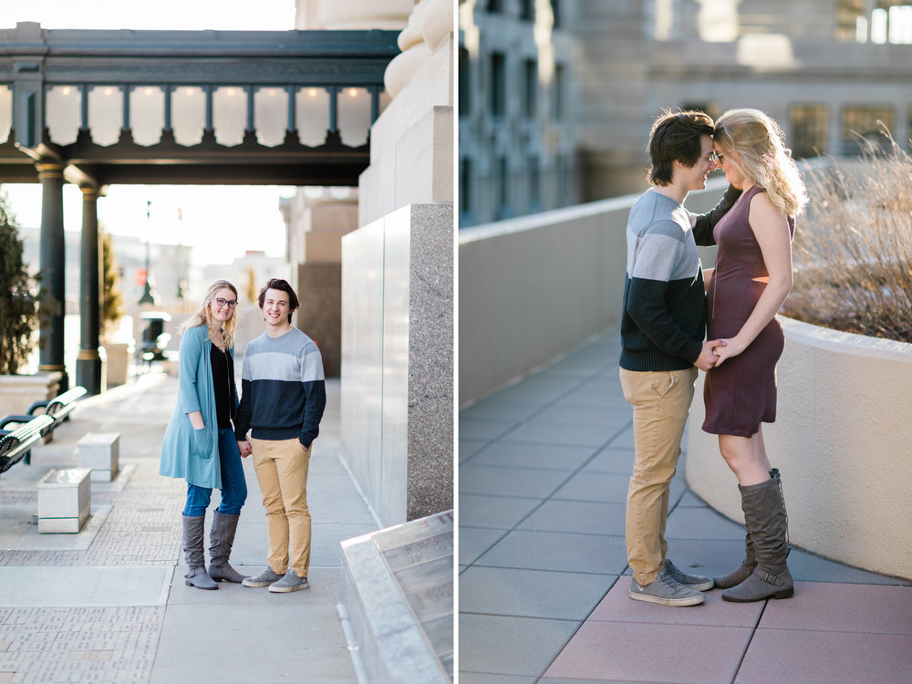Downtown Kansas City Union Station Engagement Photo 4.jpg