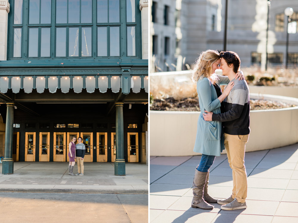 Downtown Kansas City Union Station Engagement Photo 11.jpg