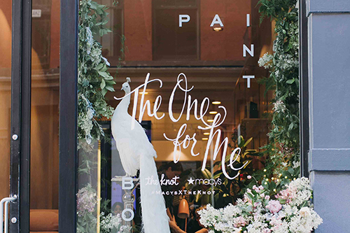 The Knot x Macys at Paintbox