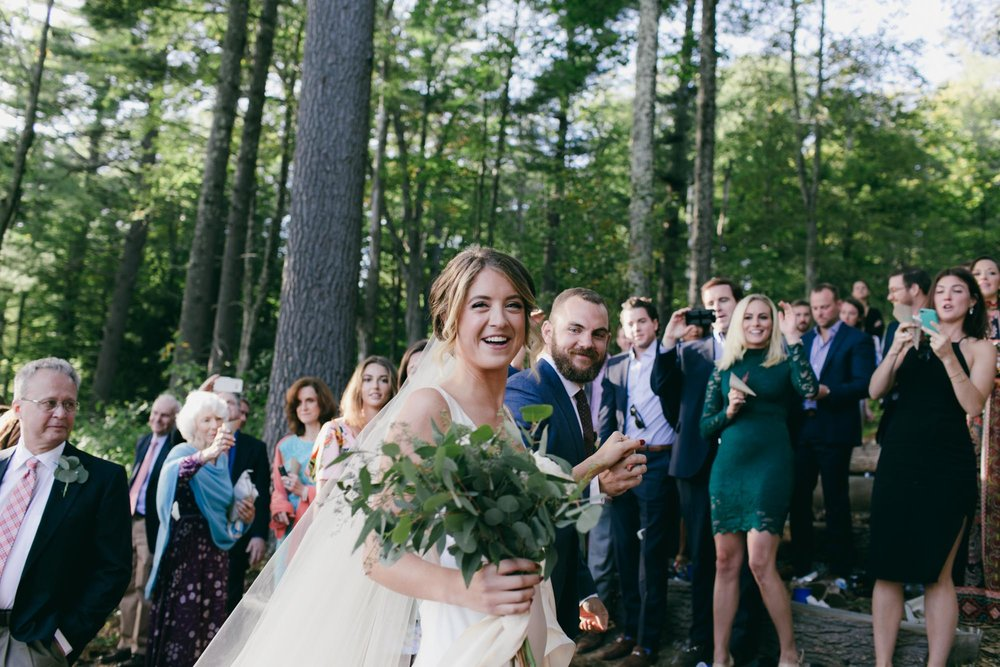 Windsor Mountain Summer Camp Wedding - Quyn Duong