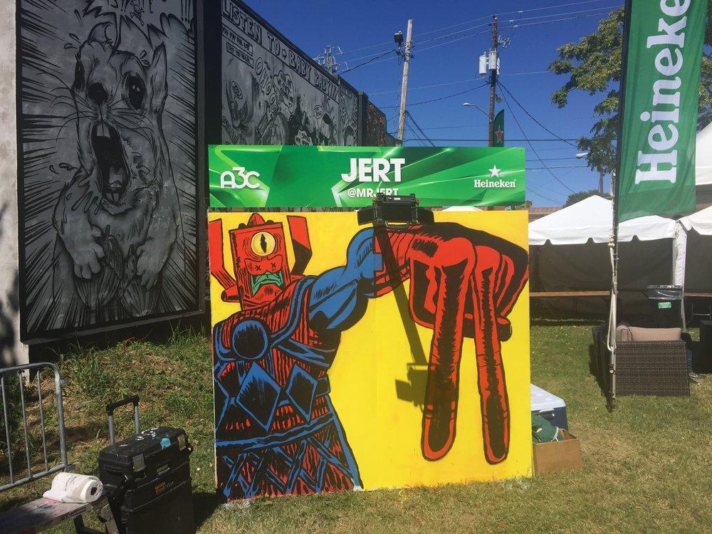 A3C hip Hop Festival, Edgewood Ave, Atlanta, 2016