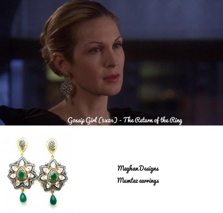 Kelly Rutherford wearing Meghna Jewels Earrings!