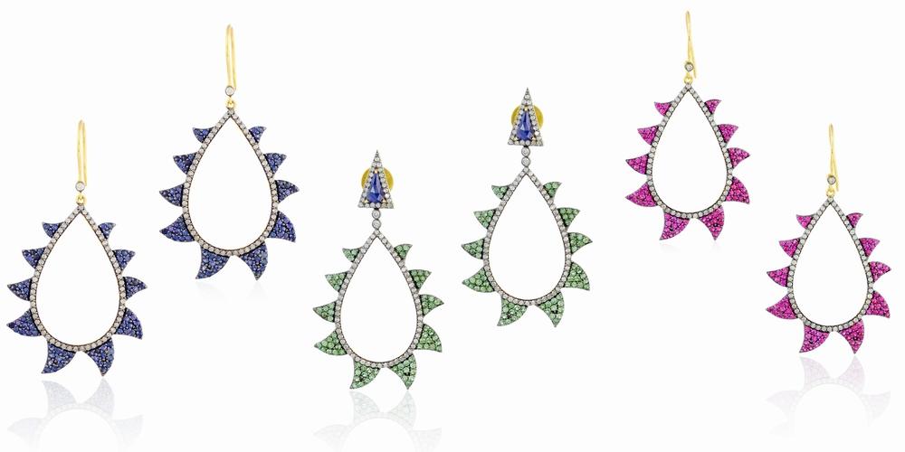 Claw Earring - Colored Gemstones.jpg