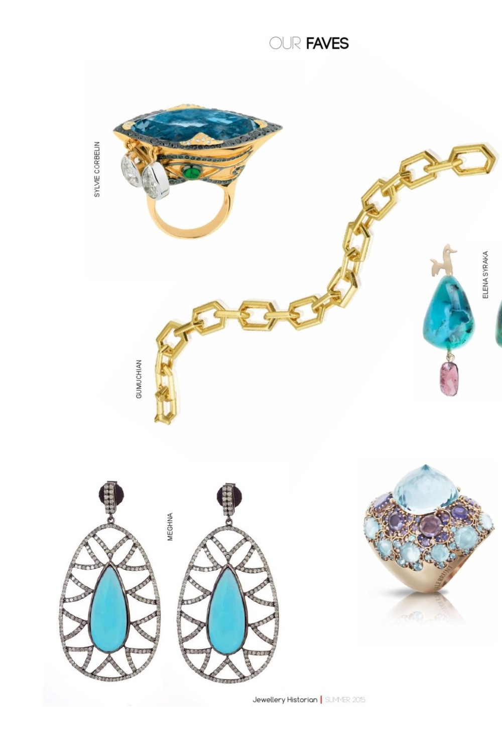 Editorials MEGHNA JEWELS Fiercely gorgeous unique fine jewelry