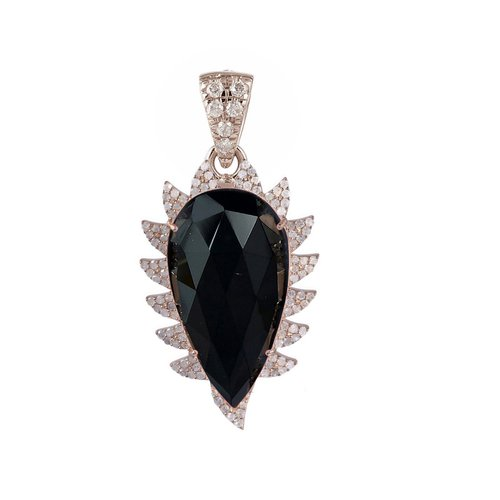 eb231ff674e Claw Black Onyx Diamonds Pendant Necklace. PHOTO-2018-10-26-00-29-18.jpg
