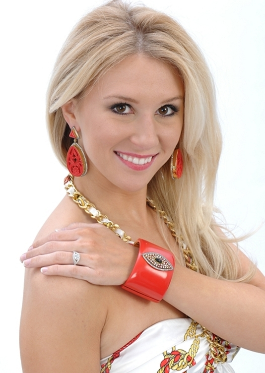 Have fun experimenting with bold statement cuffs. Our Red Marquise Cuff is a great piece for Valentine's Day!