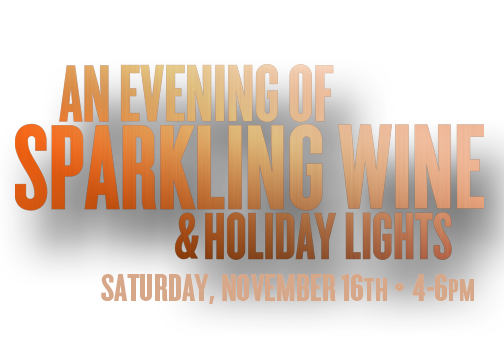 Baytowne Sparkling Wine and Holiday Lights