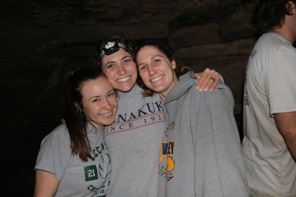 Girls in Cave