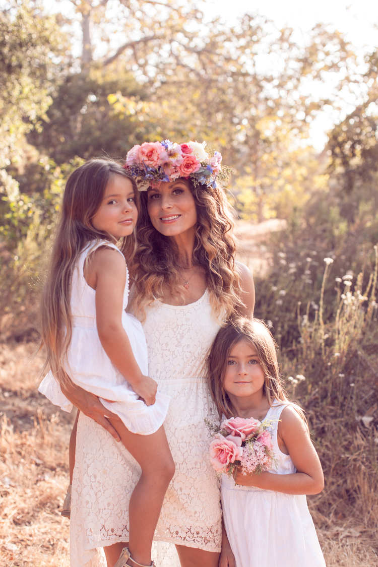 Whimsical Mother Daughter Shoot Cyd Weeks Photography