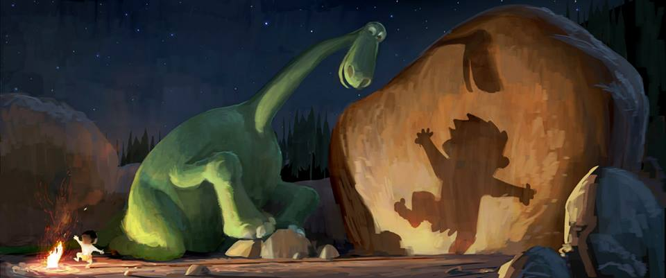 Concept art for  The Good Dinosaur . ©Disney/Pixar.
