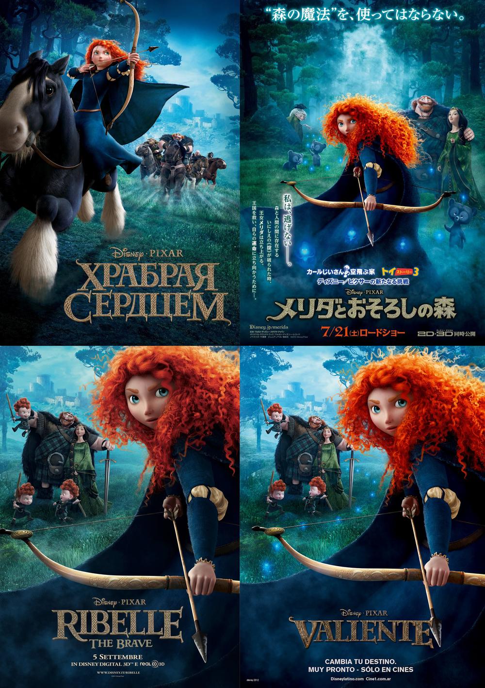 Brave, 2012.©Disney/Pixar.