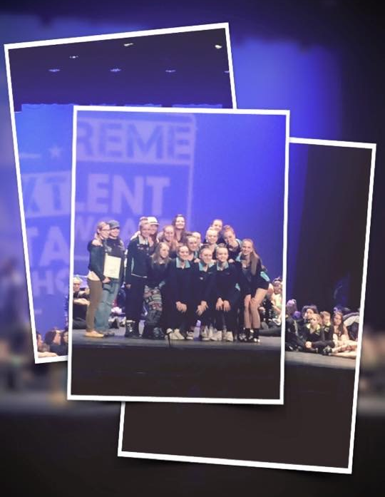 Extreme Talent 'Studio Excellence Award' 2015 for exhibiting great sportsmanship and support to teammates and fellow competitors backstage.