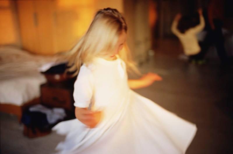 Ava Twirling by Nan Goldin
