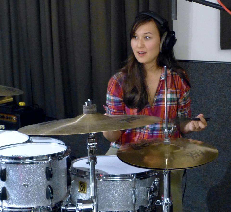 Emily Gardner Hall cymbal