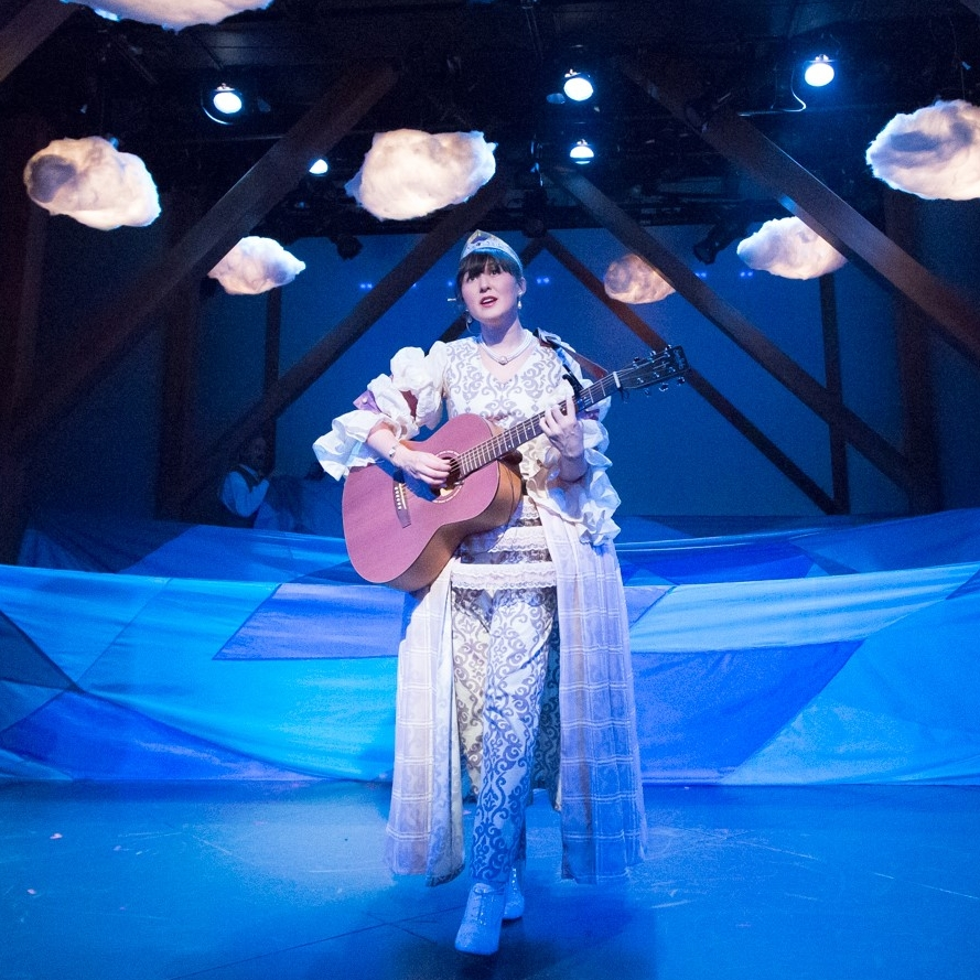 Emily Gardner Xu Hall_Light Princess_Queen with guitar