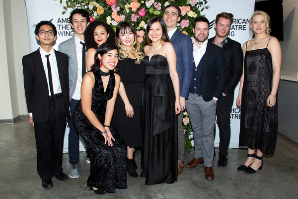 Emily Gardner Xu Hall and her band. From left: Jay Julio, Charlie Oh, Jordan Tyson, Isabella Dawis, Chloe Seunghyen Kim, Emily Gardner Xu Hall, Jason Weisinger, Jeremy Smith, Lorenzo Wolff, Rachael Duddy. Photo: Jennifer Broski for BroadwayWorld
