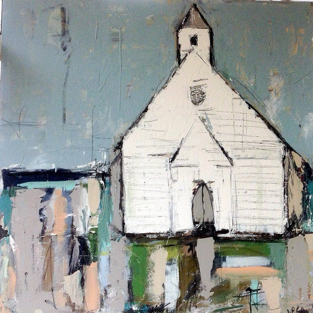 To The Chapel - 36x36