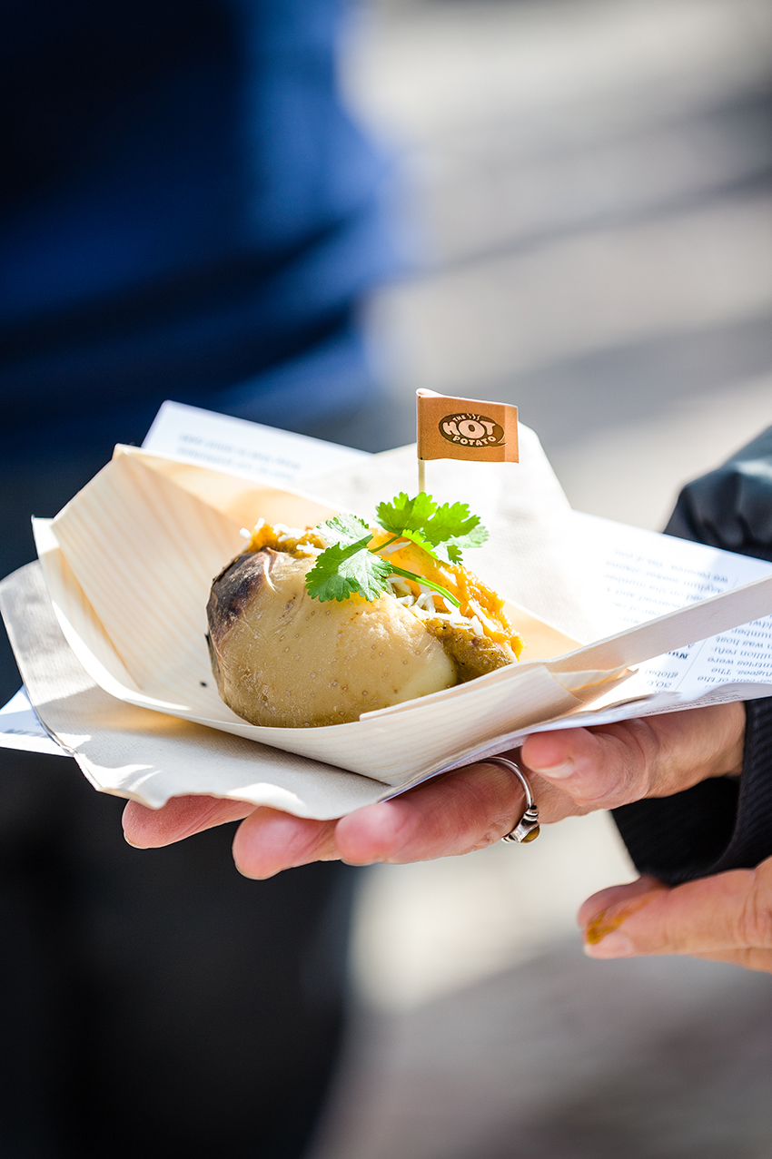 Hot Potato Launch, Federation Square