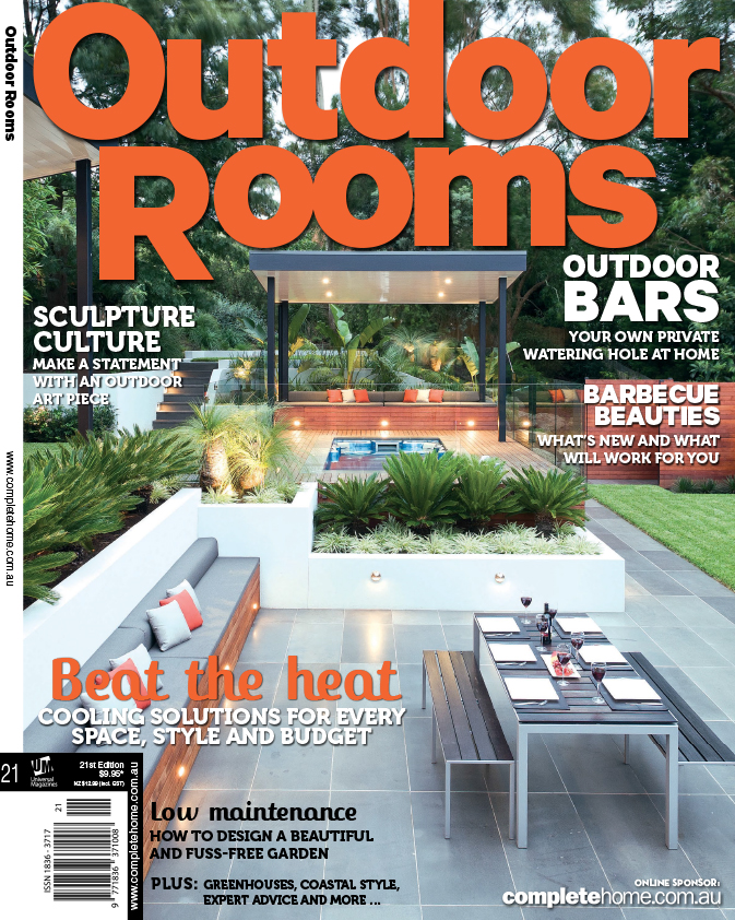 Cover Photo    I shot this image for Matt and Steve at  Apex Landscapes  a little while ago now. I was amazed by the scale of the landscaping job when I photographed it. I always thought it deserved a cover and indeed it now graces the cover of Outdoor Rooms magazine.