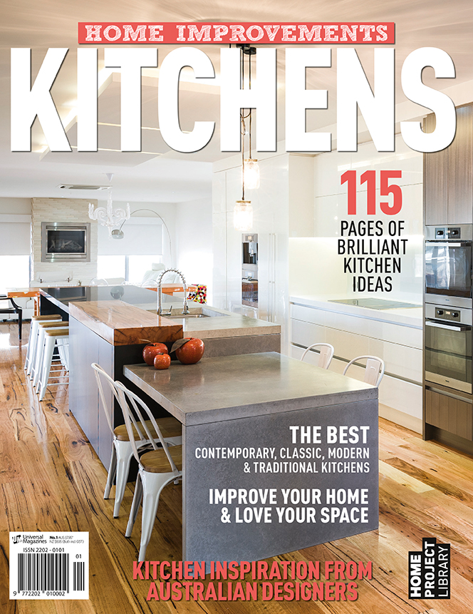"Home Improvements magazine have used another one of my images for the cover of their ""Kitchens"" edition. This image is taken from a shoot I did for  Individual Design and Construction , a multi award winning custom designer, manufacturer and installer of quality architectural joinery."