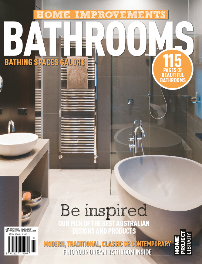 This image of mine is from a shoot I did a little while ago now for  Apaiser Bathware , but it has made the cover of this recent bathroom magazine.