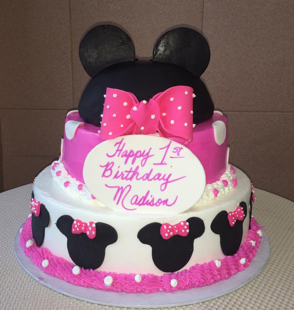 Minnie Cake. PinkBow.Ruffle