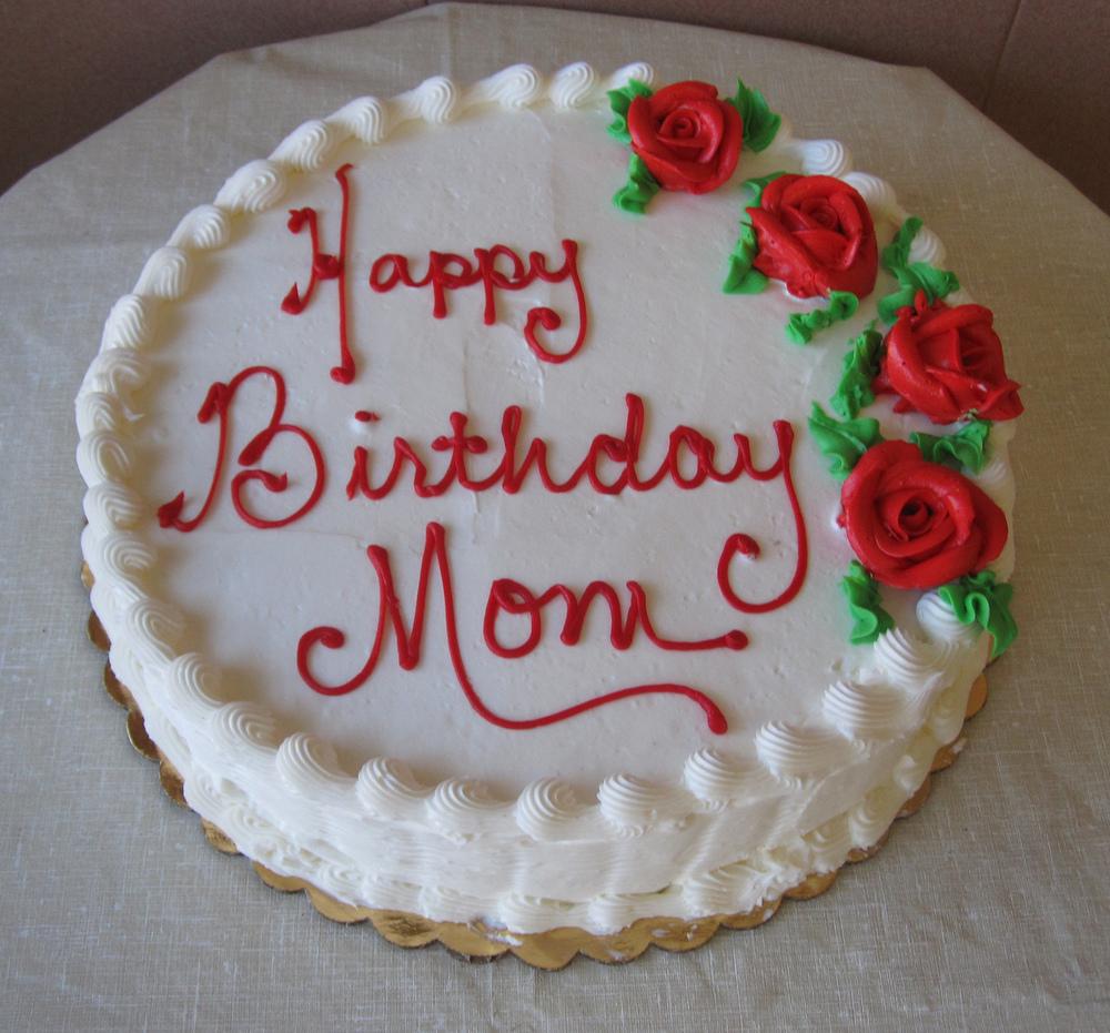 STANDARD BIRTHDAY CAKES