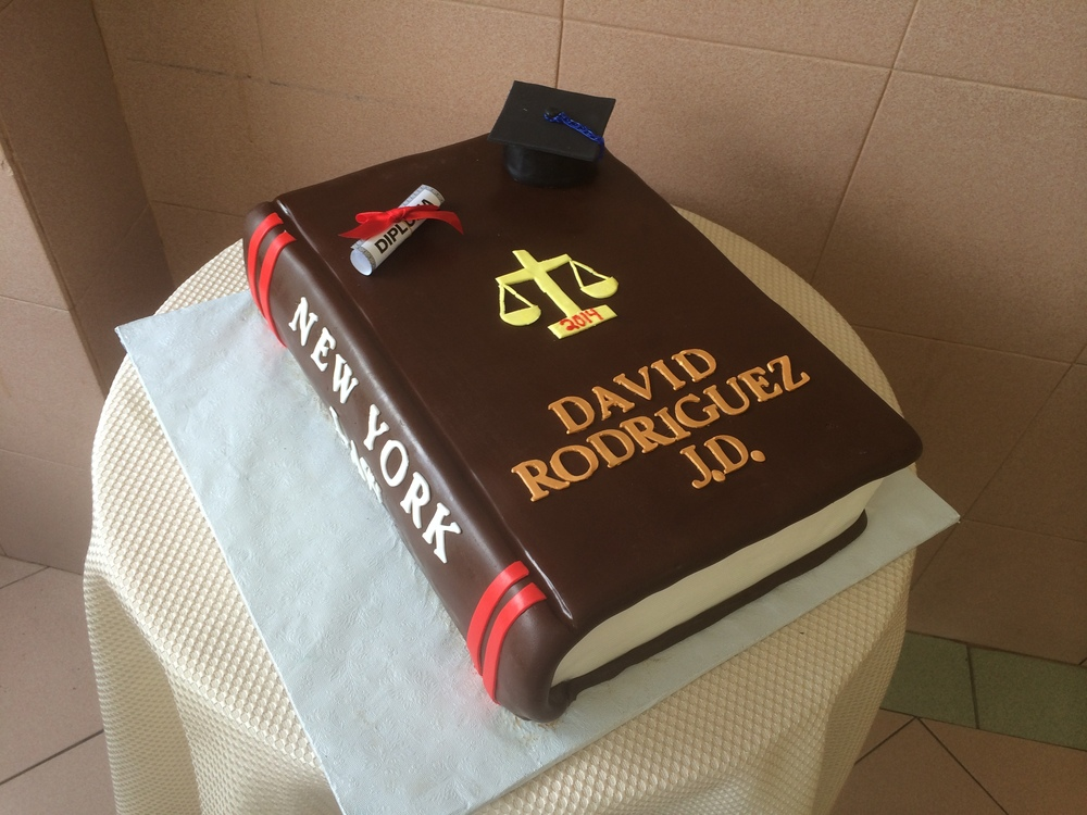 Closed Book Graduation Cake.JPG
