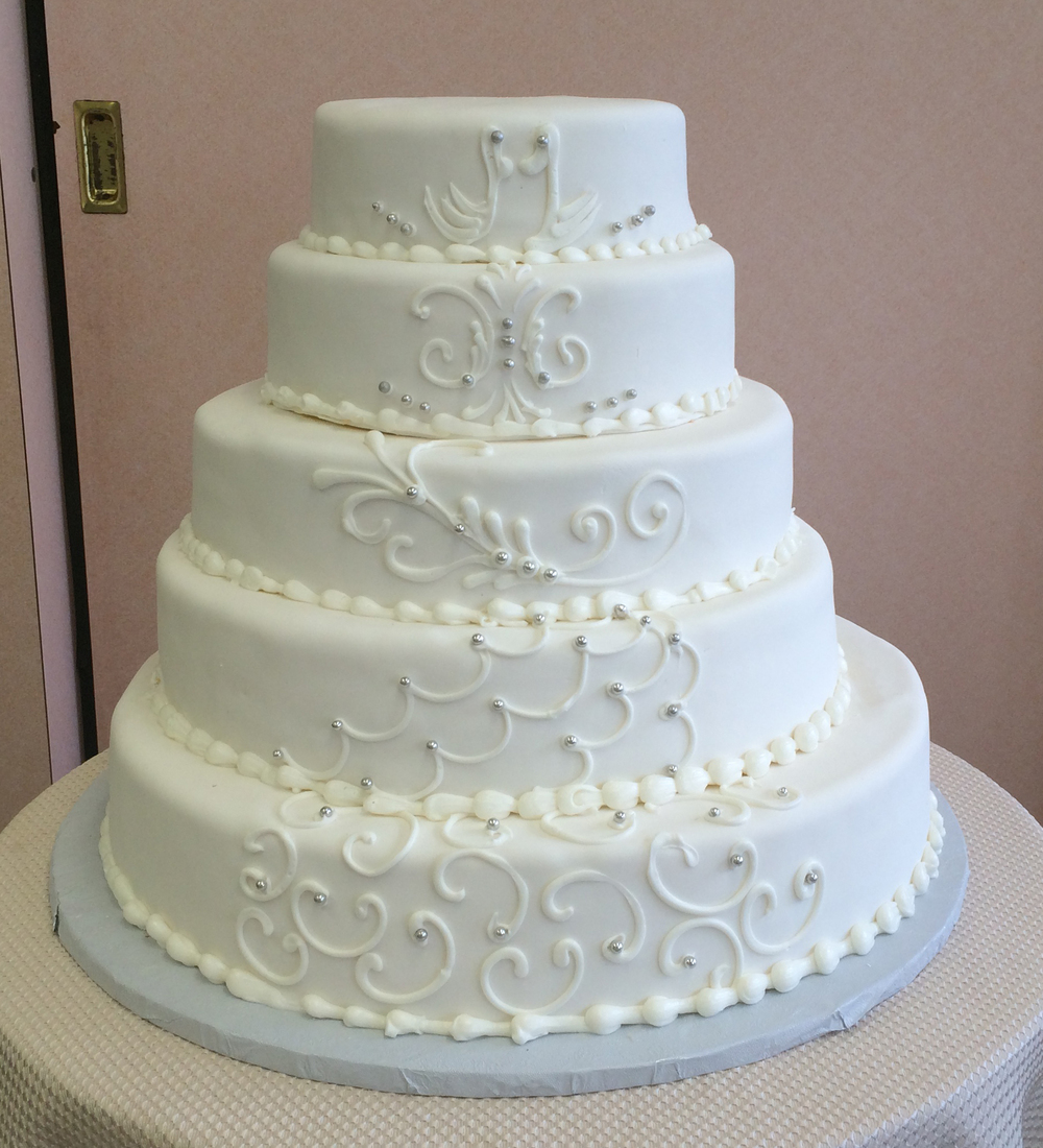 Classic wedding cakes sal doms pastry shop 43 dhlflorist Image collections