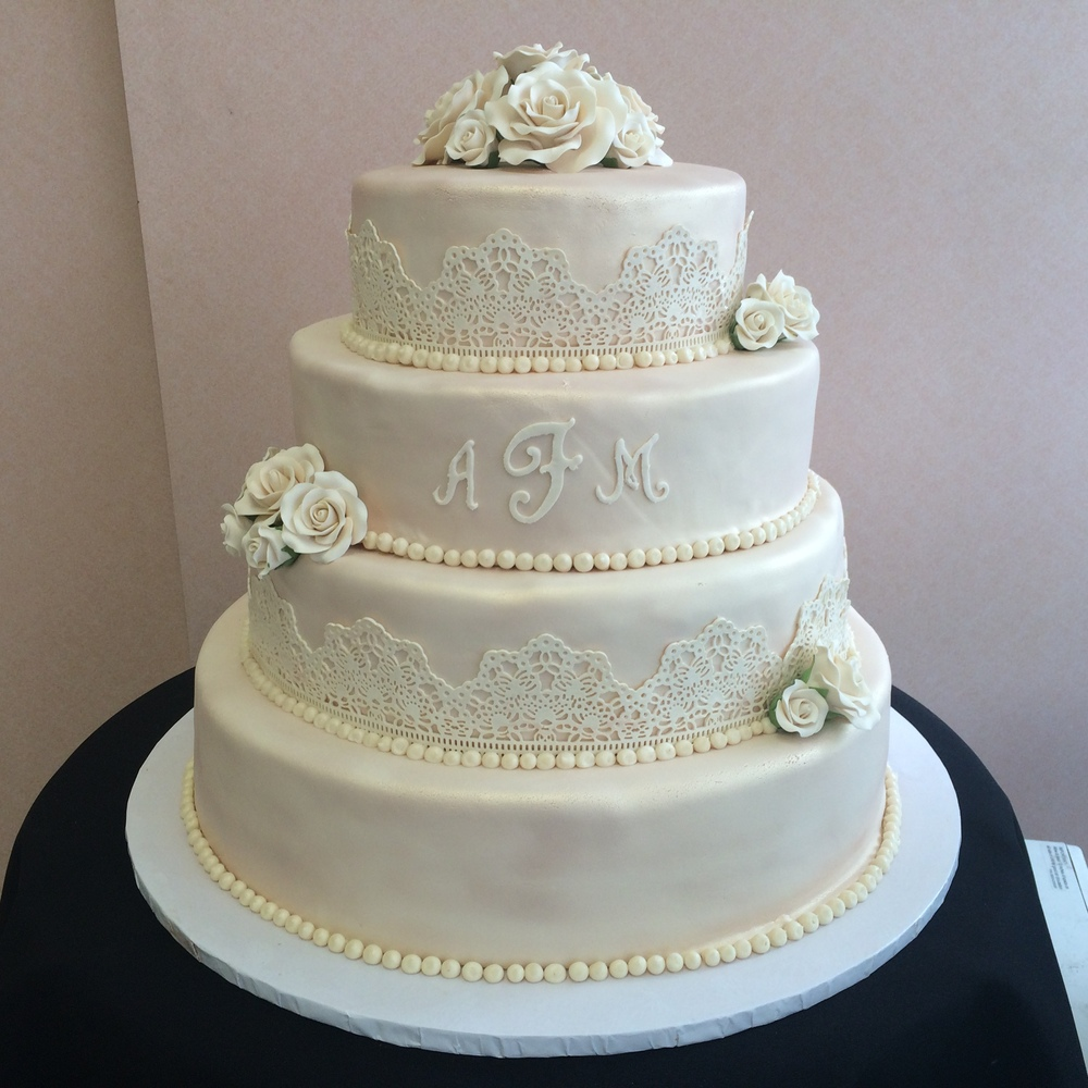 Ivory Rolled Fondant Pearlized with Ivory Sugar Lace Full Monogram.jpg
