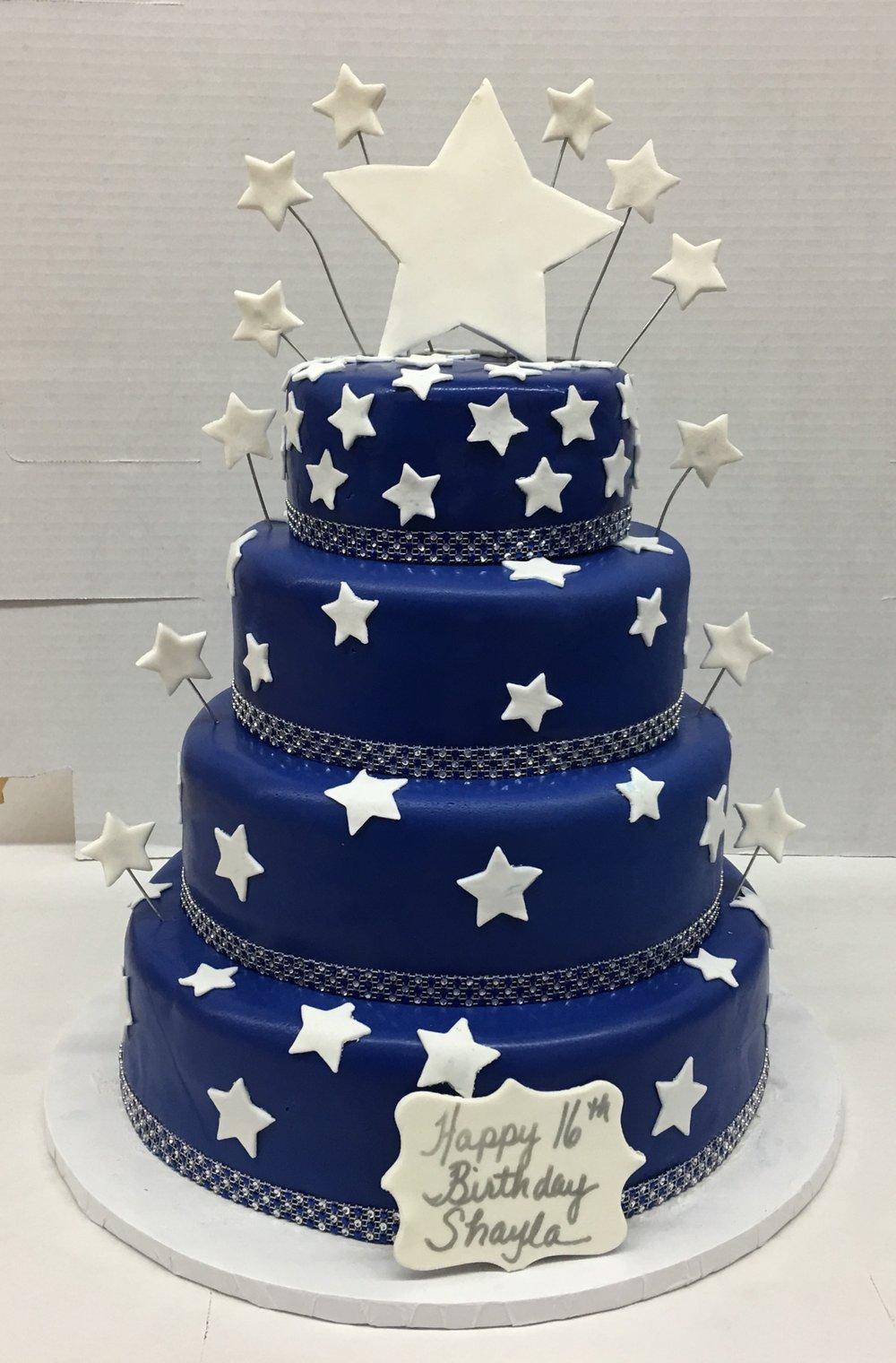 Navy Blue Rolled Fondant.Stars.jpg