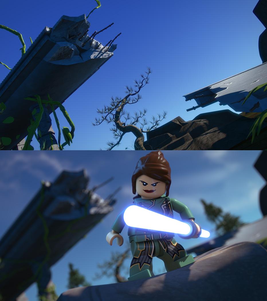 Look Dev - LEGO Starwars