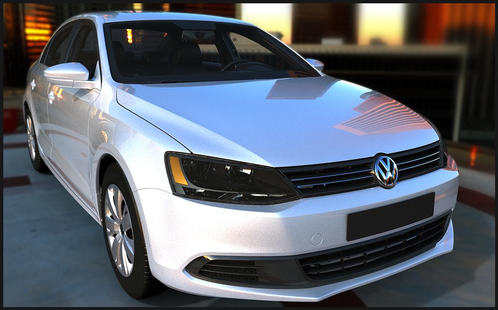 Volkswagen Passat, Advertising Matte