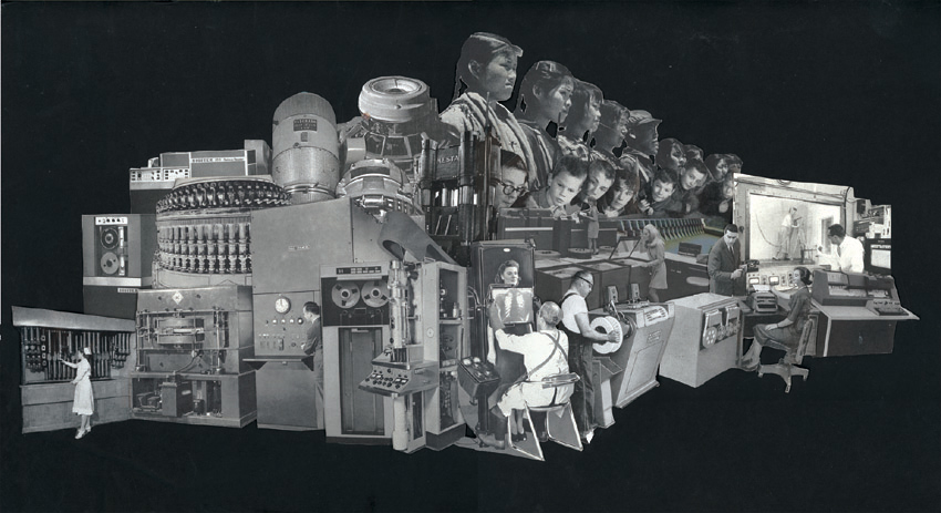 The Machine (Physical Collage - 2010)