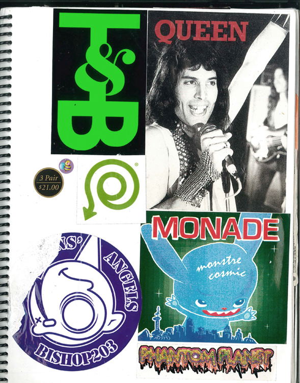 Page #5 - Sticker Collection (Morgan Jesse Lappin)