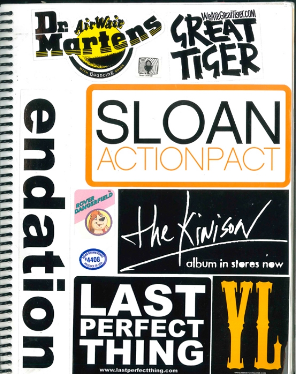 Page #16 - Sticker Collection (Morgan Jesse Lappin)