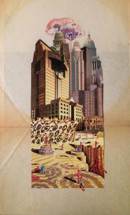 Uncle Susans Penthouse (Physical Collage - 2013)