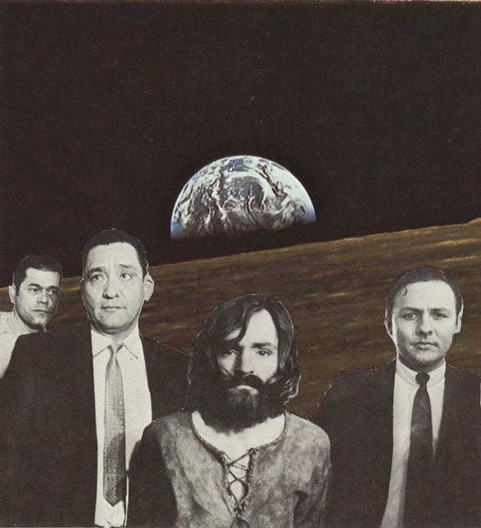 Moonson (Physical Collage - 2012)